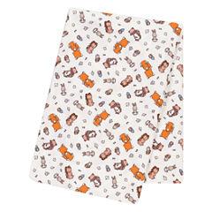 Trend Lab Wild Bunch 1 Pair Swaddle Blanket