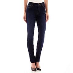 Liz Claiborne Curvy Fit Skinny Leg Jeans