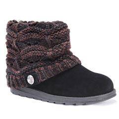 Muk Luks Janet Womens Water Resistant Winter Boots