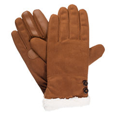 Isotoner Microsuede Glove w/ SmartDRI and Smartouch Technology