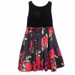 Lilt Sleeveless Skater Dress - Big Kid Girls