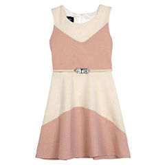 Byer California Not Applicable Sleeveless Fit & Flare Dress - Big Kid Girls