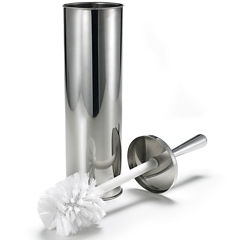 Polder 2-Pc Stainless Steel Toilet Bowl Brush