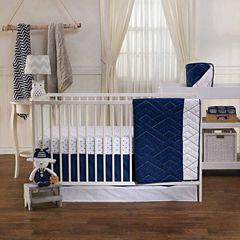Living Textiles Piper Crib Skirt