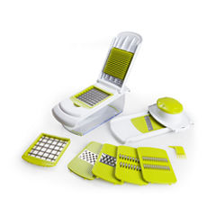 For The Chef All In 1 Chopper With Interchangeable Blades Mandoline