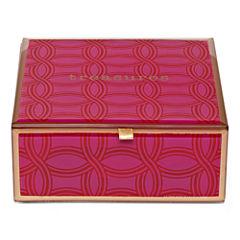 Adrienne Vittadini Studio Jewel-Tone Square Glass Storage Box