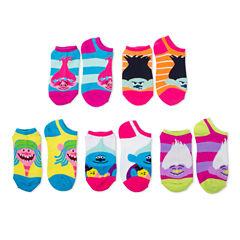 Girls No Show Socks-Big Kid