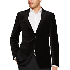 JF J.Ferrar® Slim Fit Velvet Sport Coat