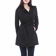 BGSD Women's Gabby Mid Length Trench Coat