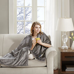 Beauty Rest Snuggle Wrap Heated Throw