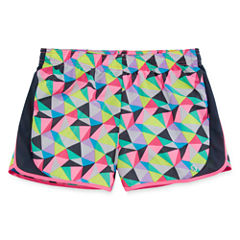 Xersion Dots Running Shorts - Big Kid Girls