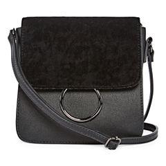 Mini Velvet Flap Crossbody Bag