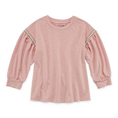 Arizona 3/4 Sleeve Sweatshirt - Big Kid Girls