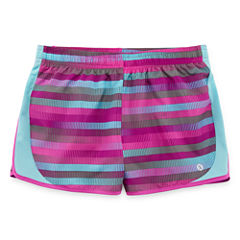 Xersion Print Performance Running Shorts - Girl's Sizes 7-16 and Plus