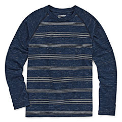 Arizona Long Sleeve Round Neck T-Shirt - Big Kid Boys