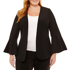 Worthington Bell Sleeve Blazer-Plus