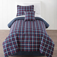 Home Expressions™ Plaid Comforter Set