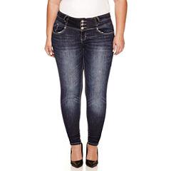 Love Indigo Skinny Fit Jean-Plus