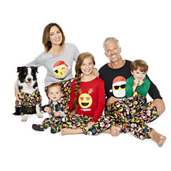 North Pole Trading Co. Merry Textmas Family Pajamas