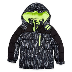 Xersion Heavyweight Camouflage Puffer Jacket - Boys-Big Kid Husky