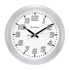 Westclox Translucent Wall Clock