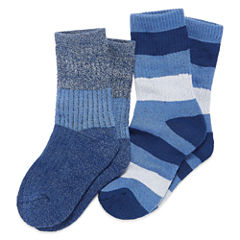 2-pk. Climate Smart Twist Socks-  Boys