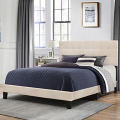 Bedroom Possibilities Daniella Upholstered Bed
