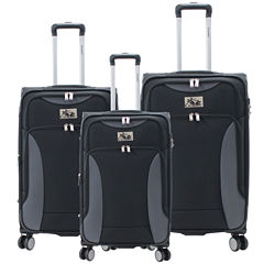 Chariot Travelware Madrid 3 PC Spinner Luggage Set