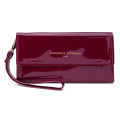 Adrienne Vittadini   Phone Wallet With Mirror Wristlet