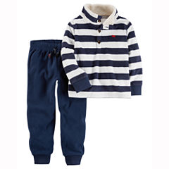 Carter's 2-pc. Stripe Pant Set Boys