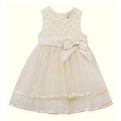Rare Editions Sleeveless Party Dress - Preschool Girls