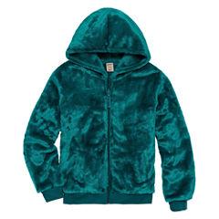 Arizona Long Sleeve Plush Hoodie - Girls' 7-16 & Plus