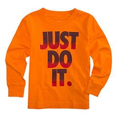Nike Long Sleeve T-Shirt-Preschool Boys 4-7