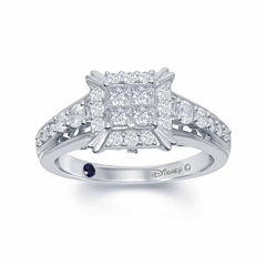 Enchanted by Disney 3/4 C.T. T.W. Diamond 14K White Gold
