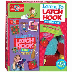 Learn To Latch Hook Activity Book