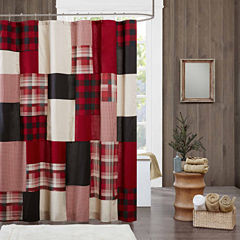 Woolrich Sunset Cotton Shower Curtain