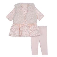 Marmellata 3-pc. Legging Set-Baby Girls
