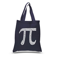 Los Angeles Pop Art The First 100 Digits Of Pi Tote