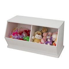 KidKraft® Double Storage Unit - White