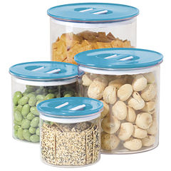 OGGI™ Stack n' Store 4-pc. Acrylic Canister Set