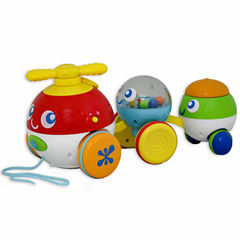 Pull Along Bubble Pals 2-Pc. Toy Playset - Unisex