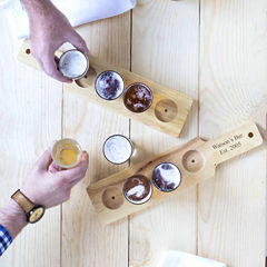 Cathy's Concepts Custom Beer Flight Sampler