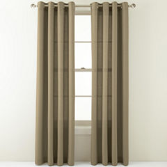 MarthaWindow™ Provence Weave Grommet-Top Curtain Panel