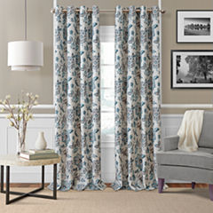 Elrene Sorrento Blackout Curtains Blackout Grommet-Top Curtain Panel
