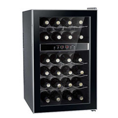 SPT WC-2462M: Dual-Zone Thermo-Electric Wine Cooler 24-bottles