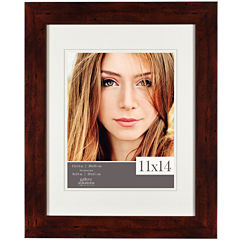 Dark Walnut Flat Picture Frame