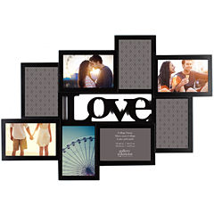 Love Cutout 8-Opening Collage Picture Frame