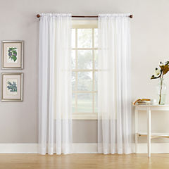 Home Expressions™ Jacqueline Rod-Pocket Sheer Panel Pair
