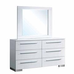 Isabella Modern Dresser Mirror