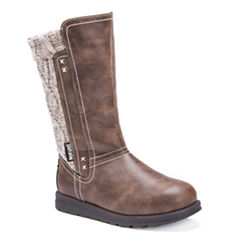 Muk Luks Stacy Womens Water Resistant Winter Boots